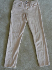 GAP JEANS SIZE 1 PREMIUM SUPER SKINNY ANKLE STYLE SEASHELL PINK