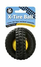 Pet Qwerks Animal Sounds X-Tire Ball Dog Toy Small Awesome Product High Quality