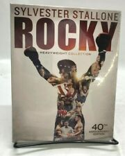 Rocky Heavyweight Collection 40th Anniversary Edition Blu-Ray 6-Disc Set - New