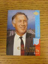 1997/1998 Upper Deck Inghilterra card: Chiamami Coach-Mercer, Joe. quando l'inserzione si
