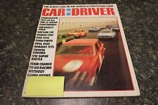 CAR AND DRIVER THE 10 BEST CARS IN THE WORLD AS YOU PICK THEM MAY 1972 VOL.17