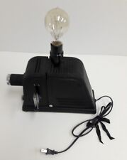 Antique Spencer Slide Viewer Lamp Conversion Buffalo Up Cycle Made in USA