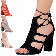 Block Heel Special Occasion Faux Suede Shoes for Women