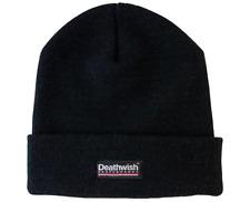 DEATHWISH Skateboards Trademark Logo Black Beanie Hat