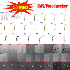 58 Type Dental Ultrasonic Scaler Scaling Endo Perio Tip Fit Ems Woodpecker G P E