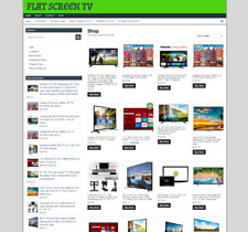Flat Screen Tv Website With One Years Hosting New Domain Easy Home Business