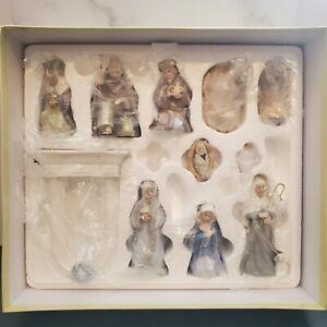 Hallmark Miniature Full 11-piece Nativity Christmas Set COMPLETE