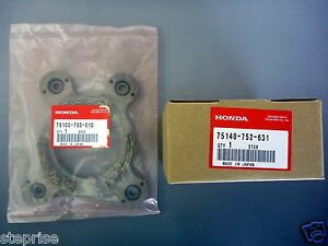 Genuine Honda Brake&Friction Disk Set 75100-750-010 & 75140-752-631 HT3810 H5013