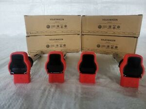 ✅Audi A4 A6 Q7 Q5 S5 VW Touareg 06E905115G Red Ignition Coil Set 4✅