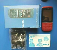 Nokia Asha 300 - RED (Unlocked) Smartphone - UK Seller - Free Tracked Postage
