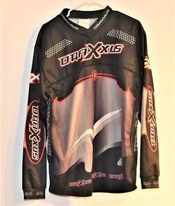 RARE >> Old School << DRAXXUS >> Paintball Team Jersey Shirt<< Large>>    3.4p