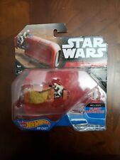*** Hot Wheels STAR WARS starships - REY'S SPEEDER - includes Flight Navigator.