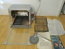 Ronco Compact Showtime Rotisserie & Bbq Oven w/ Accessories Model 5000 - Clean