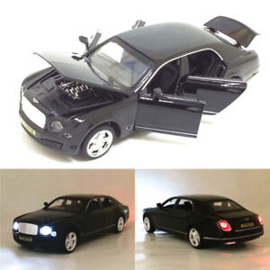 Bentley Mulsanne 1:32 Metal Diecast Model Car Toys Collection Sound&Light Gift