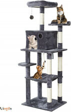 """New listing 67"""" Multi-Level Cat Tree Furniture Kitty Tower Condo Scratch Post Pet House Play"""