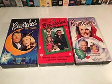 Bewitched TV Series Holiday Lot of 3 Halloween & Christmas Elizabeth Montgomery