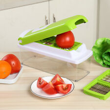 Vegetable Slicer Kit Multi Functional Food Chopper Smart Kitchen 12 in 1 Cutter