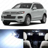 21x Xenon White Interior LED Lights Kit for Volkswagen Touareg T2 2007-2010
