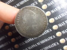 SPAGNA CARLO IV 2 REALES 1801 CONIATE A LIMA ARGENTO