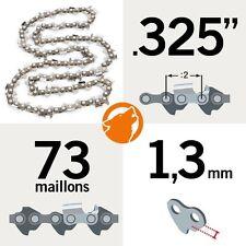 """Chaîne tronçonneuse KERWOOD 73 maillons 0,325"""", 1,3mm"""