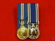COURT MOUNTED GOLDEN JUBILEE & POLICE LSGC Min Medals