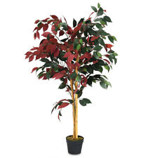 Artificial Capensia Bush Tree Plant - 4 Feet  Tall - Indoor Outdoor Home Office