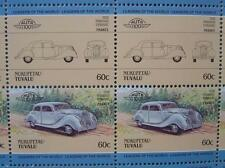 1938 PANHARD DYNAMIC Car 50-Stamp Sheet / Auto 100 Leaders of the World