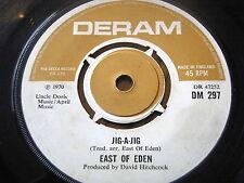 """EAST OF EDEN - JIG-A-JIG   7"""" VINYL"""