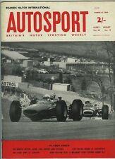 AUTOSPORT XIX MARZO 1965 * Lakeside Farm Tasman & CORSA DEI CAMPIONI *