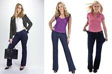 Ladies Comfortisse Boot Cut Jeans Soft Stretchy Leggings Skinny Jeggings Pant UK