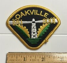 Oakville Ontario Canada 1911-2001 Lighthouse Canadian Souvenir Embroidered Patch