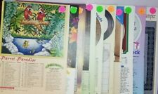 Animal Lot of 10 Counted Cross Stitch Patterns from The Cross Stitcher