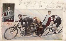Schrittmacher-Motorfahrrad, 1903, mit Gutachten Museum Dresden, siehe Scan