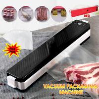 Automatic Food Vacuum Sealer Pack Packaging Machine Kitchen Food Saver + 10 Bags