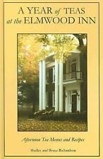 SIGNED! A Year of Teas at the Elmwood Inn The Richardsons VG HC free USPS SHIP
