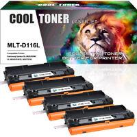 4PK for Samsung MLT-D116L 116L Toner SL-M2625D M2825DW M2875FD M2875FW M2835DW