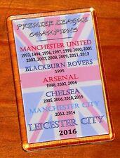 SALE PRICE Leicester City Premier League champions Union jack flag fridge magnet
