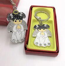 12 Baptism Girl Angel Party Favors Keepsakes Keychains Recuerdos de Bautizo Niña