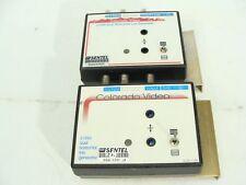 Colorado Video 619xx Dual Horizontal Line Generator BNC Hi-Z Input - Lot of 2