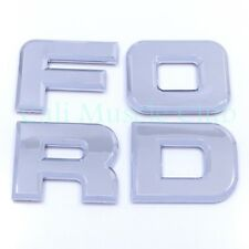 92-95  Ford F-150 F-250 F-350 Tail gate Emblems Nameplate Badge Letters Tailgate