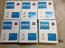2018 BUICK ENCORE & CHEVY TRAX Service Shop Repair Manual Set FACTORY NEW