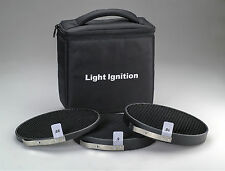 Honeycomb Grid Set of 3 (5,10,20 deg) for Profoto Zoom Reflector 2 /Grid holder