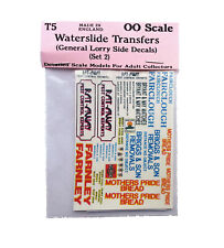 Lorry set 1 Waterslide Transfers T5 Colour OO Scale Langley Models Decals 1/76