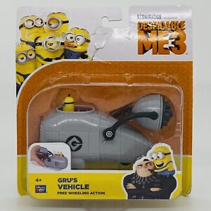 Despicable Me 3 Gru's Vehicle with Minion Toy Figure 4+