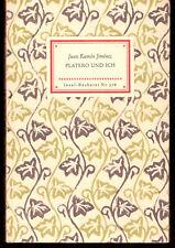 Juan Ramon Jimenez - Platero und Ich - Insel Buch Bücherei Nr. 578 Vintage