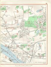 1964  VINTAGE STREET MAP - PURFLEET, AVELEY, WEST THURROCK