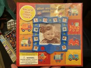 What are Little Boys Made of? - Talking Photo Album New Seasons