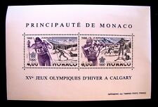 1620 CALGARY OLYMPICS JEUX OLYPIQUES D'HIVER A CALGARY MNH OG (SEE NOTE)