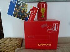 Coca Cola 6 Can's Canettes Collector Box set Coffret France Russia 2018