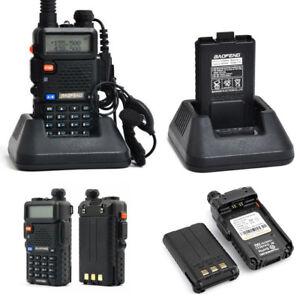 BAOFENG UV-5R RICETRASMITTENTE VHF/UHF DUAL BAND RADIO 136-174 400-480 MHZ t1